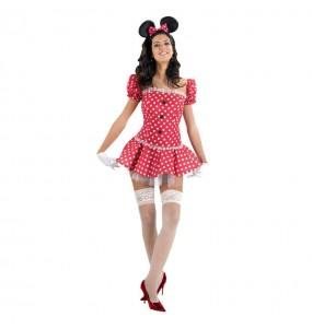 Disfraz de Ratoncita Minnie chica