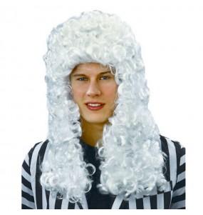 peluca de época hombre