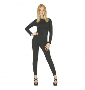 Disfraz Maillot Negro para Mujer