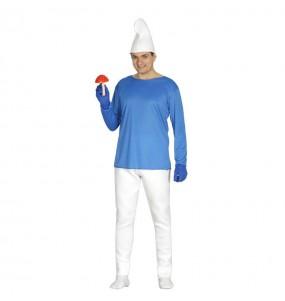 Disfraz de Enanito azul adulto
