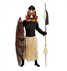 Disfraz de Zulú adulto