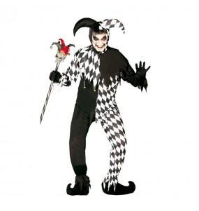 Disfraz de joker negro