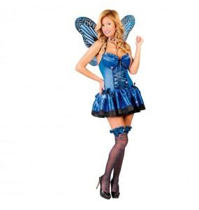 Disfraz de Mariposa Azul