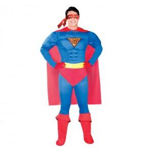 Disfraz de Superman con Músculos