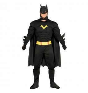 Disfraz de Batman con Músculos adulto