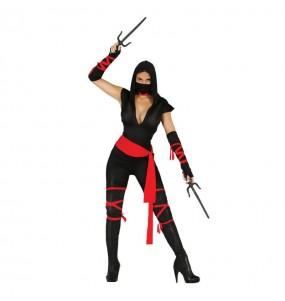 Disfraz de Mujer Ninja