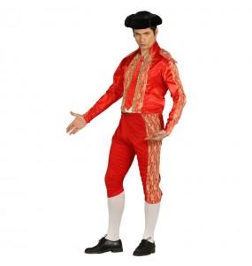 Disfraz de Torero rojo económico