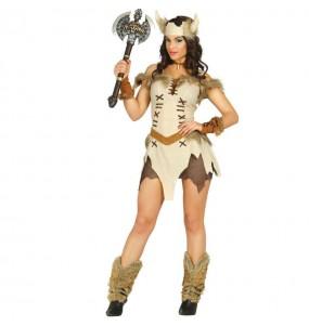 Disfraz de Vikinga sexy hacha