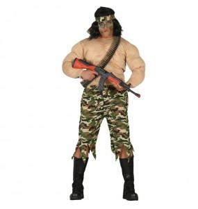 Disfraz de John Rambo para hombre