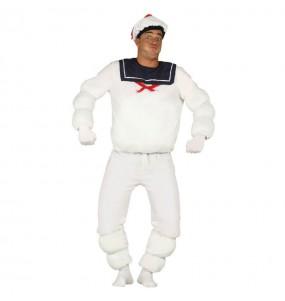 Disfraz de Marshmallow Cazafantasmas adulto