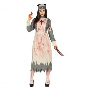 Disfraz de Enfermera Sangrienta adulto