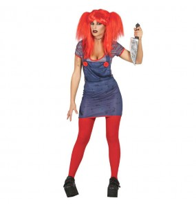 Disfraz de Novia de Chucky adulto
