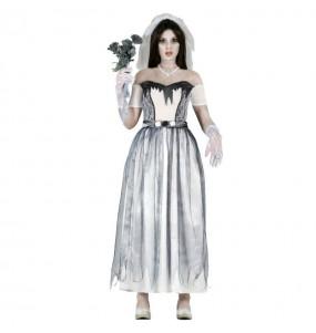 Disfraz de Novia Cadáver mujer zombi