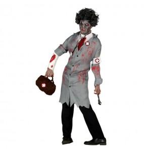 Disfraz de Enfermero Sangriento adulto