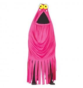 Disfraz de Monstruo Yip Yip Rosa adulto