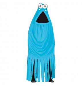 Disfraz de Monstruo Yip Yip Azul adulto