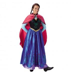 Disfraz de Anna Frozen Adulto - Disney®