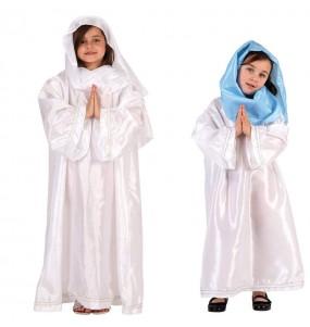 Disfraz de Virgen María infantil