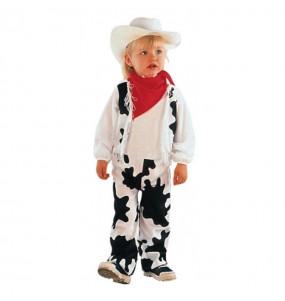 Disfraz de Vaquero Vaca peque