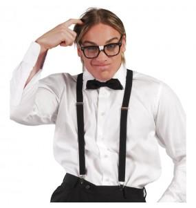Tirantes Negros regulables de disfraz
