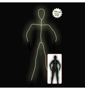 Disfraz de Sombra con Luz Mujer