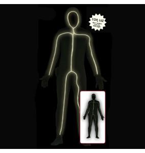 Disfraz de Sombra con Luz Hombre