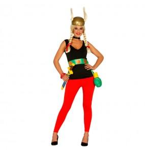 Disfraz de Asterix Mujer