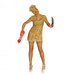 disfraz enfermera sangrienta zombie adulto