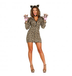 disfraz leoparda sexy adulto