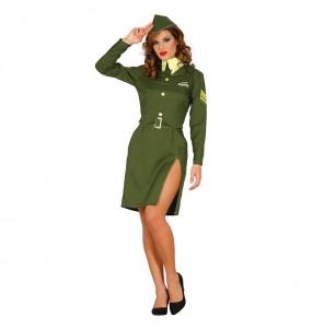 disfraz militar segunda guerra mundial mujer
