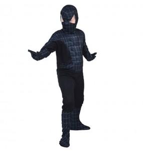 Disfraz de Spider Hero Negro