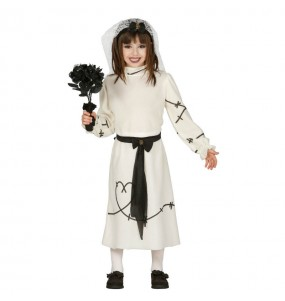 Disfraz de Novia Cadáver Niña