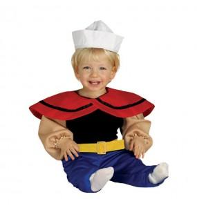 Disfraz de Popeye bebe