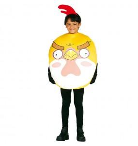 Disfraz de Pollito infantil Angry Birds