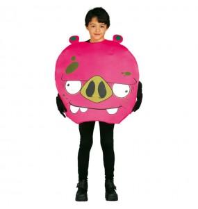 Disfraz de Cerdito infantil Angry Birds
