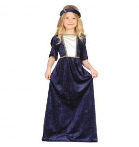 Disfraz de Dama Medieval chica
