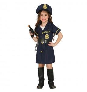 Disfraz de Policía Chica
