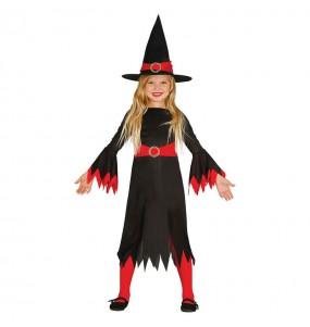 disfraz bruja económica Halloween infantil