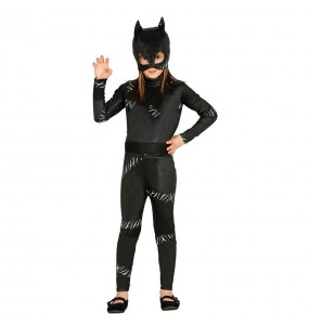 disfraz cat woman superheroína infantil