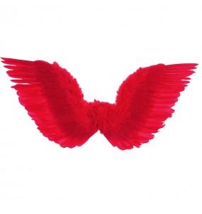 Alas plumas rojas