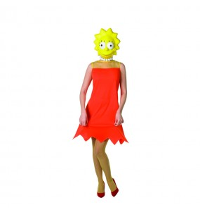 Disfraz de Lisa Simpson The Simpsons