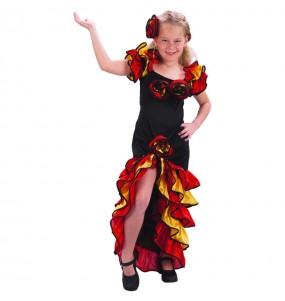 Disfraz de Rumbera para niña