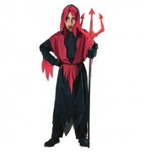 Disfraz de Diablo barato para niño