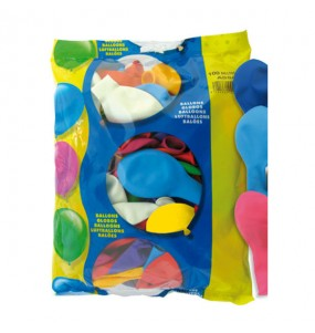 Globos Multicolor extra helio