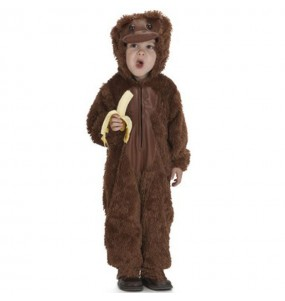 Disfraz peque mono