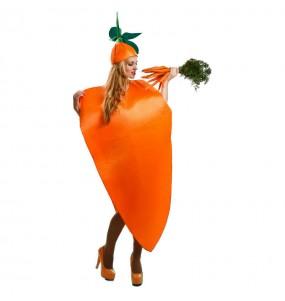 Disfraz de Zanahoria adulto