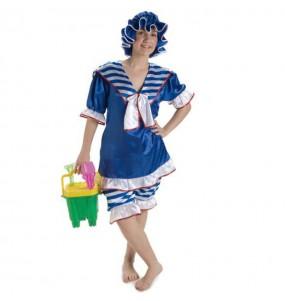 Disfraz de Bañista Años 20 para mujer