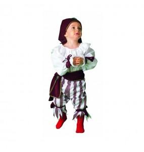 Disfraz de Pirata Rayas bebé