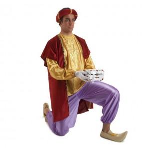 Disfraz de Paje del Rey Baltasaradulto