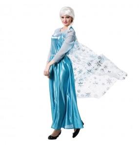 Disfraz de Princesa Hielo Frozen para mujer